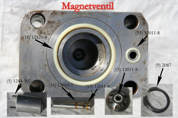 Solenoid O-rings - click to enlarge