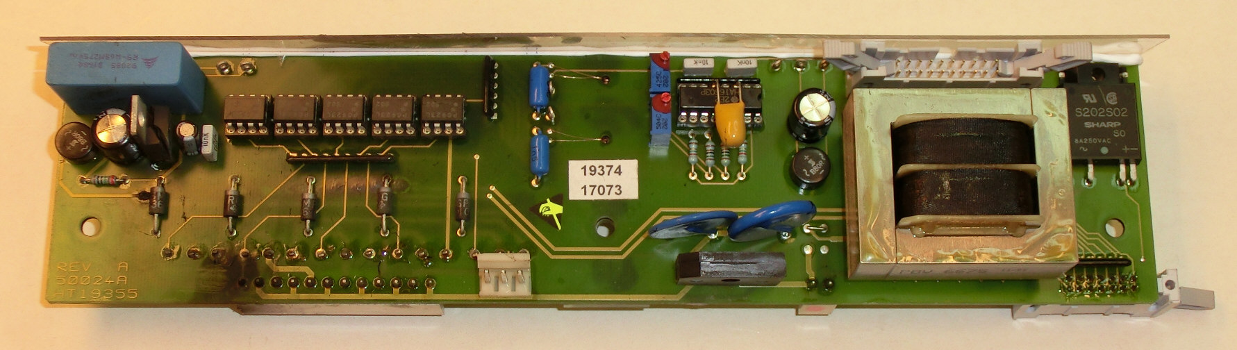 PCB NO. HT 19355, 50024A , REV. A
