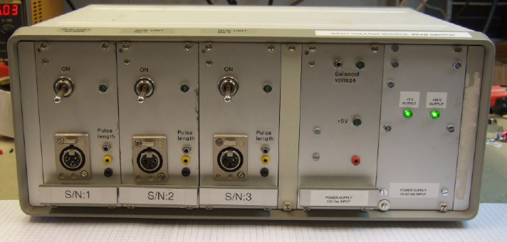 Mini-Gunco front panel. Click to see larger image.